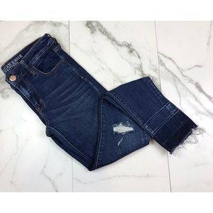 American Eagle• Distressed Skinny Jeans